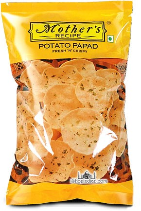 Mother's Recipe Potato Papad - Mini