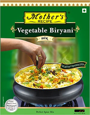 Mother's Recipe Vegetable Biryani Mix