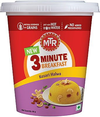 MTR Instant Kesari Halwa - 3 Minute Breakfast