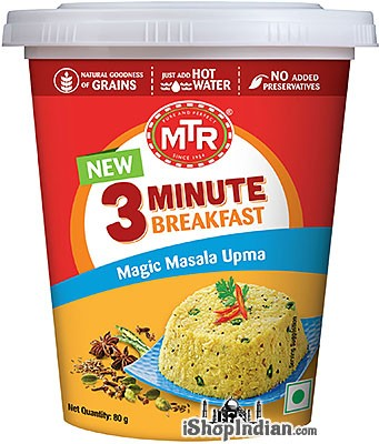 MTR Instant Magic Masala Upma - 3 Minute Breakfast