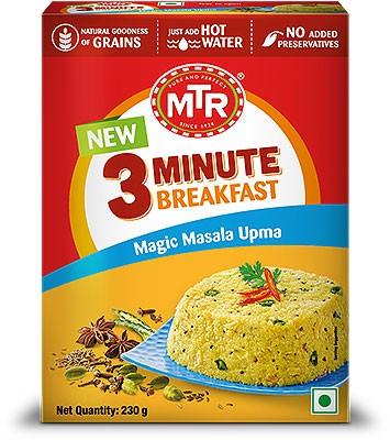 MTR Instant Magic Masala Upma - 3 Minute Breakfast - 8.1 oz