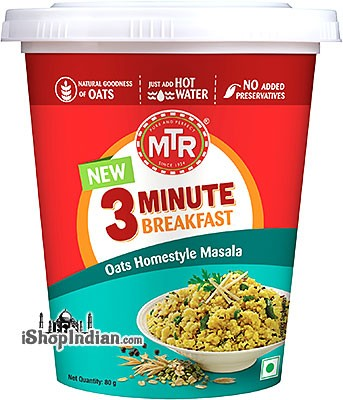 MTR Instant Oats Homestyle Masala - 3 Minute Breakfast