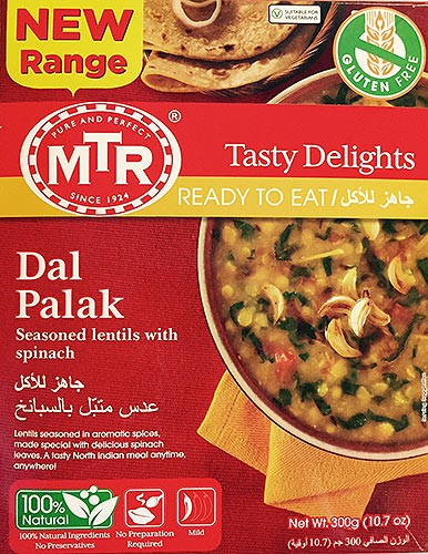 MTR Dal Palak (Ready-to-Eat)