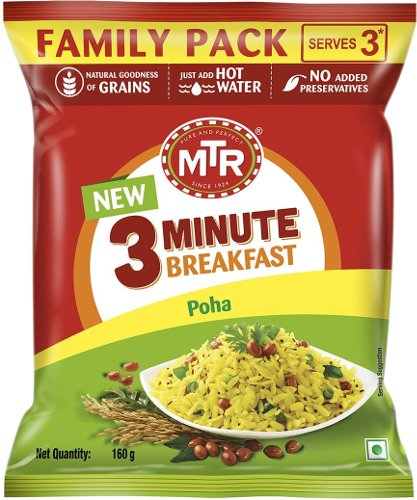 MTR Instant Poha - 3 Minute Breakfast