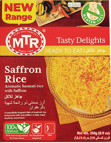 MTR Saffron Rice (Ready-to-Eat)