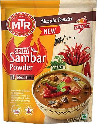 MTR Sambar Powder - Spicy - Extra Hot