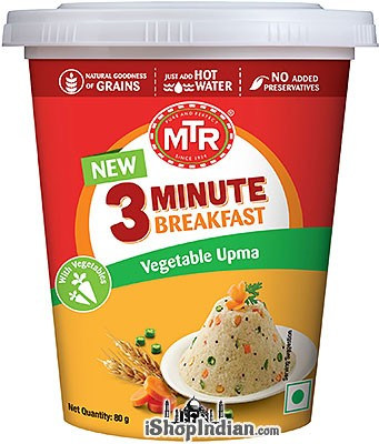 MTR Instant Vegetable Upma - 3 Minute Breakfast