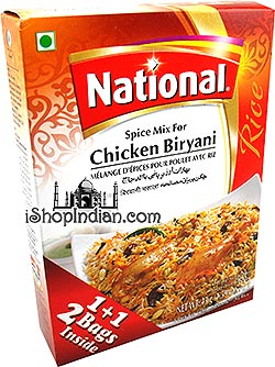 National Chicken Biryani Spice Mix