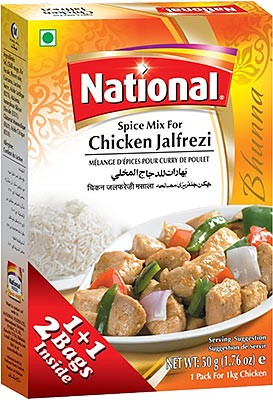 National Chicken Jalfrezi Spice Mix