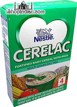 Nestle Cerelac - Multigrain Dal Veg - Stage 4