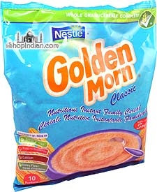 Nestle Golden Morn Instant Cereal (Maize) - 500 gms