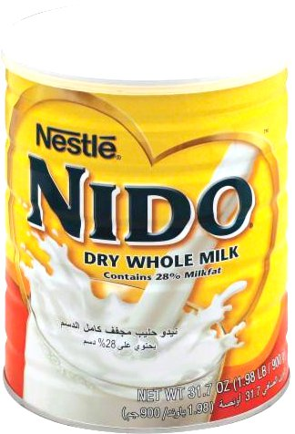 Nestle Nido Dry Whole Milk Powder - 900 gms