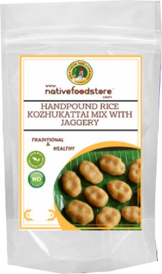Native Food Store Kozhukattai Mix with Jaggery