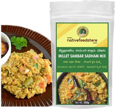 Native Food Store Millet Sambar Sadham Mix