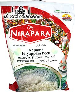 Nirapara Appam / Idiyappam Podi