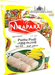 Nirapara White Puttu Podi - Coarse Rice Flour