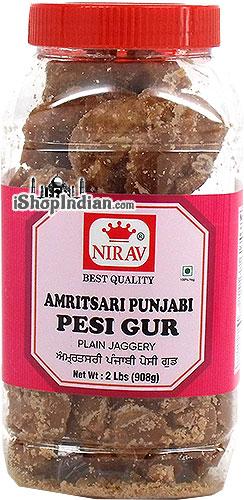 Nirav Amritsari Punjabi Pesi Gur - Plain