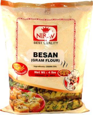 Nirav Gram Flour (Besan) Chickpea Flour - 4 lbs