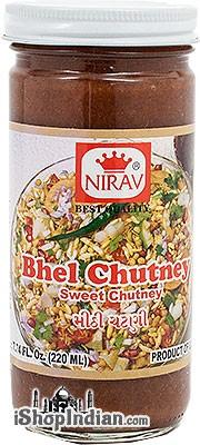 Nirav Bhel Chutney (Sweet Chutney)