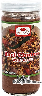 Nirav Bhel Chutney with Garlic (Sweet Chutney)