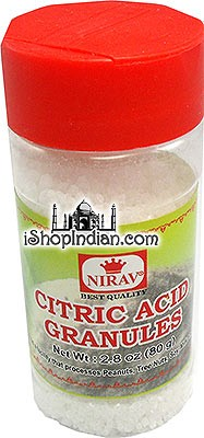Nirav Lemon Crystals (Citric Acid Granules)
