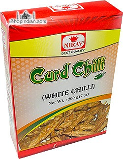 Nirav Dahi /  Curd Chilly (Vathals-More Milagai) - 7 oz