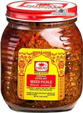 Nirav Extra Hot Mixed Pickle
