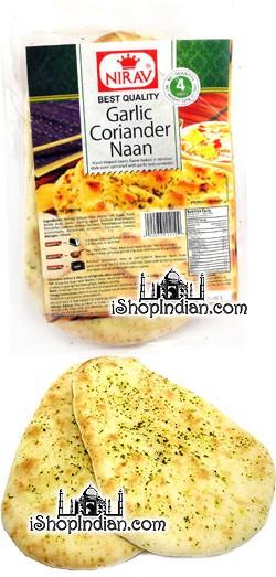 Nirav Garlic Coriander Naan