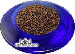 Nirav Mustard Seeds (Small) Andhra Mustard - 7 oz