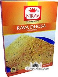 Nirav Rava Dhosa Instant Mix
