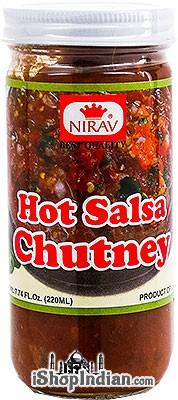 Nirav Hot Salsa Chutney