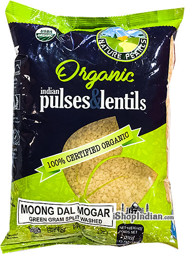 Nature Pearls Organic Moong Dal Mogar
