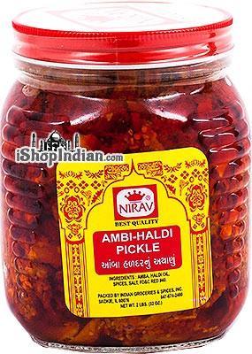 Nirav Ambi Haldi Pickle