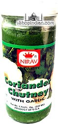 Nirav Coriander Chutney WITH Garlic