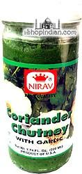 Nirav Coriander Chutney WITH Garlic