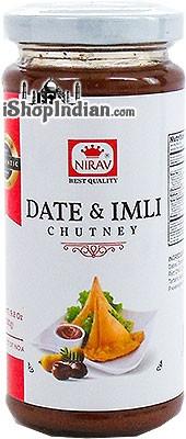 Nirav Date & Imli (Tamarind) Chutney