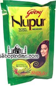 Godrej Nupur Henna with 9 Herbs - 400 gms