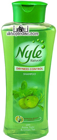 Nyle Naturals - Dryness Control Shampoo with Amla, Tulsi & Green Tea