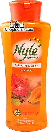 Nyle Naturals - Smooth & Silky with Hibiscus, Papaya, Shikakai & Amla
