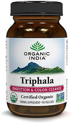 Organic India Organic Triphala - 90 Veg Caps