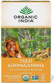 Organic India Tulsi Ashwagandha (Stress Relieving & Balancing)