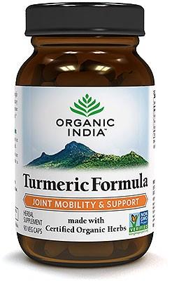 Organic India Organic Turmeric Formula - 90 Veg Caps