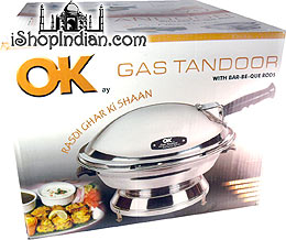 Gas Tandoor Oven (For Gas Stove-Top Use)