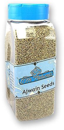 Om Naturals Ajwain Seeds - 8 Oz Jar
