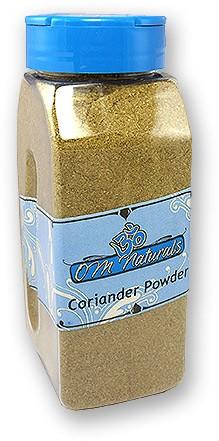 Om Naturals Coriander Powder - 9 oz Jar