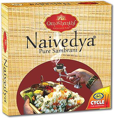 Om Shanthi Cycle Naivedya - Lobhan Sambrani