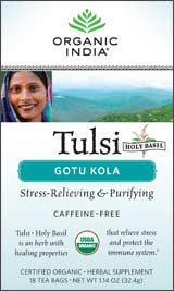 Organic India Tulsi Gotu Kola Tea