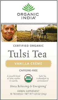Organic India Tulsi Vanilla Creme Tea