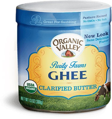 Organic Valley Purity Farms Ghee (Clarified Butter)