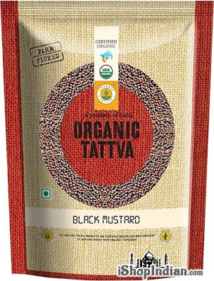 Organic Tattva Organic Mustard Seeds (Big) - 10.58 oz